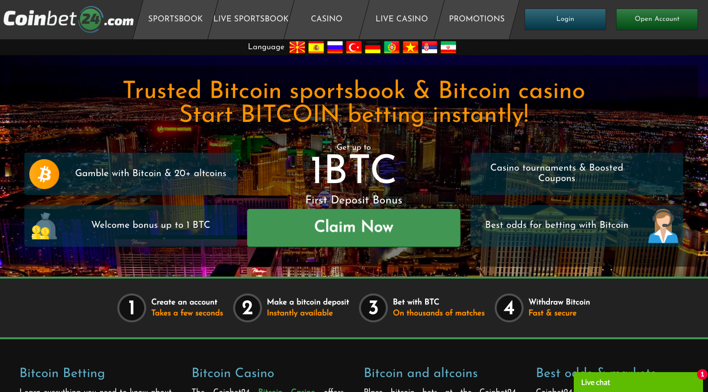 Casino crypto thrills